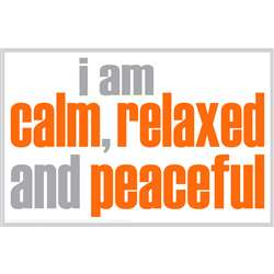 I Am Calm Poster, ISM0017P
