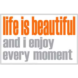 Life Is Beautiful Notes 20 Pack, ISM0028N