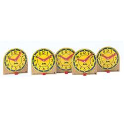 Original Judy Mini Clocks 12-Pk Wood By Frank Schaffer Publications