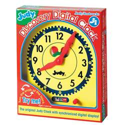 Judy Discovery Digital Clock, J-34001