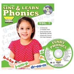 Sing & Learn Phonics Book Cd Vol 2, JMP126LK
