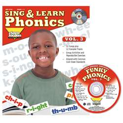 Sing & Learn Phonics Book Cd Vol 3, JMP127LK