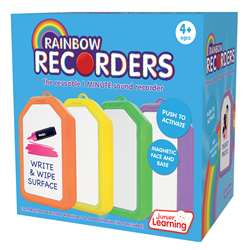 Rainbow Recorders Set Of 4, JRL149