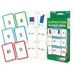 Subtraction Flash Cards, JRL205