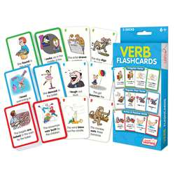 Verb Flash Cards, JRL209