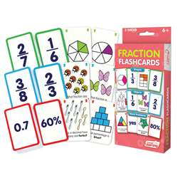 Fraction Flash Cards, JRL212