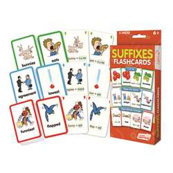 Suffixes Flash Cards, JRL215