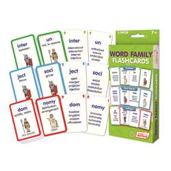 Word Families Flash Cards, JRL216