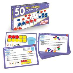 50 Ten Frame Activities, JRL321