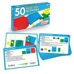 50 Base Ten Activities, JRL326