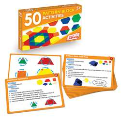 50 Pattern Block Activities, JRL329
