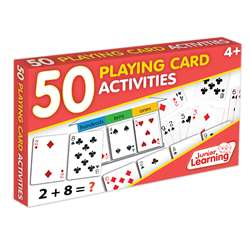 50 Playing Cards Activities, JRL341