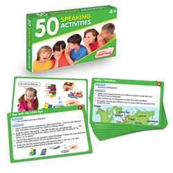 Lang Arts Activity Cards Speaking, JRL350