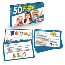 Lang Arts Activity Cards Phonemic Awareness, JRL351