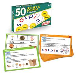 Lang Arts Activity Cards Letters And Sounds, JRL353