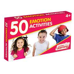 50 Emotion Activity Cards, JRL357