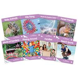 Fantails Book Lilac Nonfict Lvl A Banded Readers, JRL440