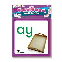 Wall Borders Vowel Sounds, JRL464