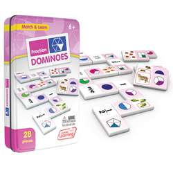Fractions Dominoes, JRL485