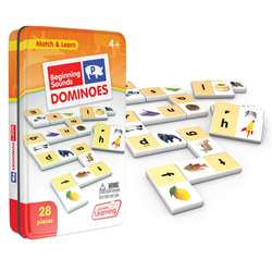 Beginning Sounds Dominoes, JRL492