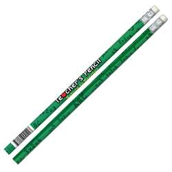 Pencils Teachers Pencil 12/Pk Green By Jr Moon Pencil