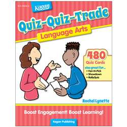 Quiz-Quiz-Trade Language Art Gr 2-4, KA-BQQLA2