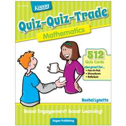 Quiz-Quiz-Trade Mathematics Gr 2-4, KA-BQQM2
