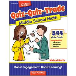 Quiz-Quiz-Trade Math Lv 1 Middle School, KA-BQQMM1