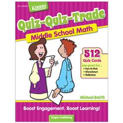 Quiz-Quiz-Trade Math Lv 2 Middle School, KA-BQQMM2
