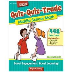 Quiz-Quiz-Trade Math Lv 3 Middle School, KA-BQQMM3