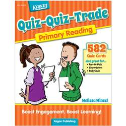 Quiz-Quiz Trade Reading Gr K-2, KA-BQQPR