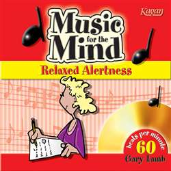 Music For The Mind Cds Relaxed Alertness, KA-LGMR