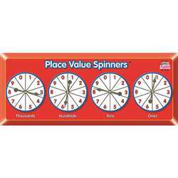 Place Value Spinners By Kagan Publishing