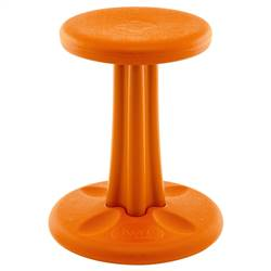 "Junior Wobble Chair 16"" Orange, KD-615"