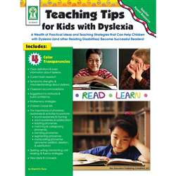 Teaching Tips For Kids With Dyslexia Book By Carson Dellosa