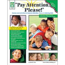 Pay Attention Please Book Parent Teacher Resource By Carson Dellosa