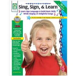 Sing Sign & Learn By Carson Dellosa