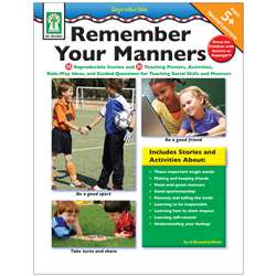 Remember Your Manners By Carson Dellosa