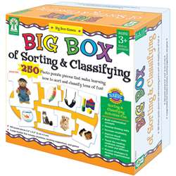 Big Box Of Sorting & Classifying Game By Carson Dellosa