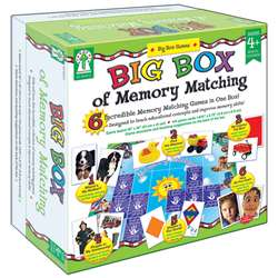 Big Box Of Memory Match Games By Carson Dellosa