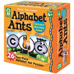 Alphabet Ants Game By Carson Dellosa