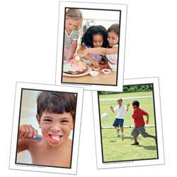 Photographic Learning Cards Talk About A Childs Day By Carson Dellosa