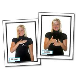 Sign Language For The Early Childhood Classroom Learning Cards By Carson Dellosa