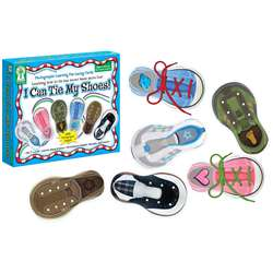 Learning Fun Lacing Cards I Can Tie My Shoes By Carson Dellosa