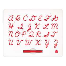 Cursive Magnatab Board Upper Case By Kid O Products