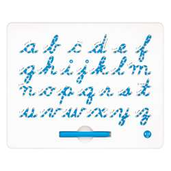 Cursive Magnatab Board Lower Case By Kid O Products