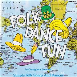 Folk Dance Fun Cd Ages 5-9, KIM7037CD