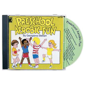 Preschool Aerobic Fun Cd Ages 3-6 By Kimbo Educational