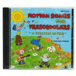Action Songs For Preschoolers Cd, KIM9122CD