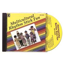Multicultural Rhythm Stick Fun Cd Ages 3-7 By Kimbo Educational